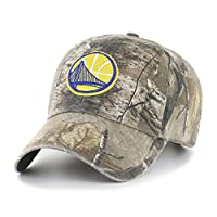 (Golden State Warriors, One Size, Realtree Camo) - OTS NBA Adult Men's Challenger Adjustable Hat
