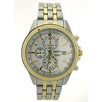 [セイコー]Seiko 腕時計 Two Tone Stainless Steel Chronograph Watch SNDF04 メンズ [並行輸入品]