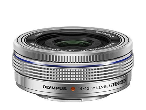 OLYMPUS (オリンパス) 電動式パンケーキズームレンズ M.ZUIKO DIGITAL ED 14-42mm F3.5-5.6 EZ SLV B00I0TUNZA 1枚目