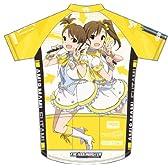 アイドルマスター 双海亜美・真美サイクルジャージ 半袖 サイズ:XL