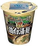 エースコック 飲み干す一杯W あおさ仕上げの鶏白湯麺 105g×12個
