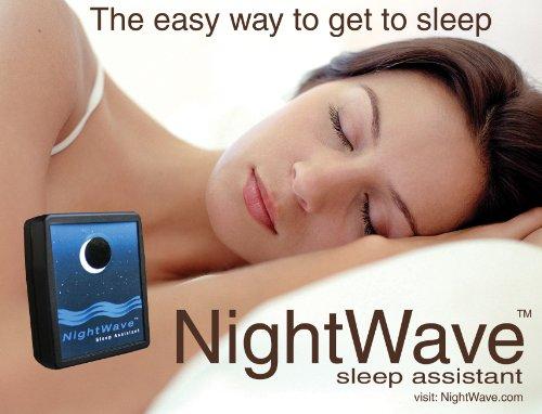ナイトウェーブ 眠れない、寝付けない夜にさようなら ブラック  W60mm×H74mm×D23mm NW-102