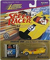 Johnny Lightning Speed Racer Shooting Star Driven By Racer X Real Wheels Series by Playing Mantis