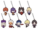 にとたん 劇場版 Fate/stay night[Heaven's Feel] 制服 ラバーマスコット BOX商品 1BOX=9個入り、全9種類