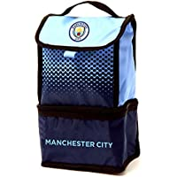 マンチェスター?シティ フットボールクラブ Manchester City FC オフィシャル商品 保冷ランチバッグ お弁当バッグ お弁当かばん (ワンサイズ) (ブルー/ネイビー)