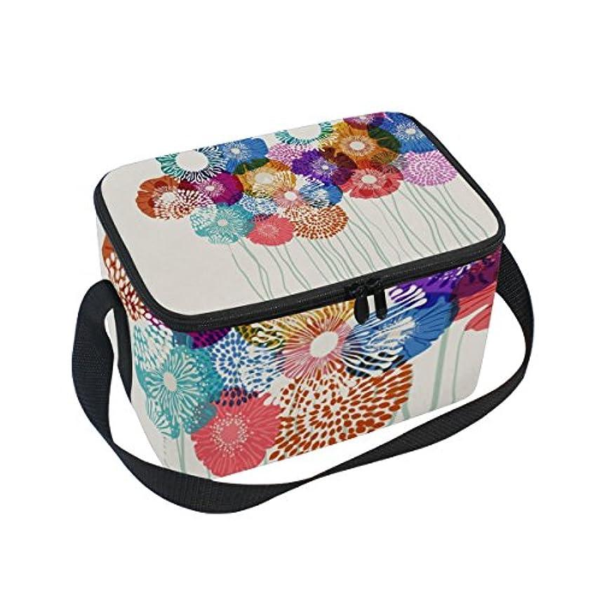 慢性的モード枯渇クーラーバッグ クーラーボックス ソフトクーラ 冷蔵ボックス キャンプ用品 花柄 保冷保温 大容量 肩掛け お花見 アウトドア