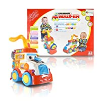 SAVVYSTREET KIDS ? BABY RACE CAR PUSH AND PULL SIT TO STAND LEARNING WALKER WITH FUN INTERACTIVE FEATURES AND SOUNDS [並行輸入品]