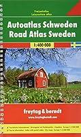 Sweden Road Atlas Spiral 2015