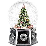 Spode クリスマスツリー 2016 ミュージカルスノーグローブツリー L 1612488