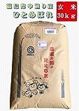【新米】28年産福島県中通り産『ひとめぼれ』1等 玄米30kg