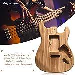 エレキギターキット ギターボディギターDIY メープル