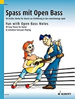 Fun With Open Bass Notes: 50 Easy Pieces for Guitar