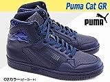 [プーマ] PUMA ハイカットスニーカー プーマキャット GR 360619 ハイカット メンズ レディース ユニセックス PUMACAT GR レザー 02カラー 23.0cm