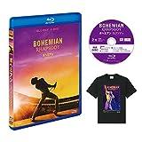 【Amazon.co.jp限定】ボヘミアン・ラプソディ 2枚組ブルーレイ&DVD (特典映像ディスク&オリジナルTシャツ付き)[Blu-ray]