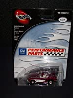 100% Hot Wheels Prefered 2002 GM Performance Parts Series # 3 of 4 '58 Corvette Purple and White