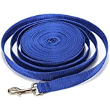 40FT/50FT/66FT Extra Long Puppy Pet Dog Training Obedience Retractable Lead Leash Recall Rope - Medium and Larger Dogs Heavy