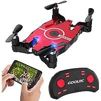 GoolRC T49ドローン 720P Wifi FPV カメラ付き 折り畳み式 ポケットラジコン マルチコプター RC クアッドコプター 玩具 プレゼント