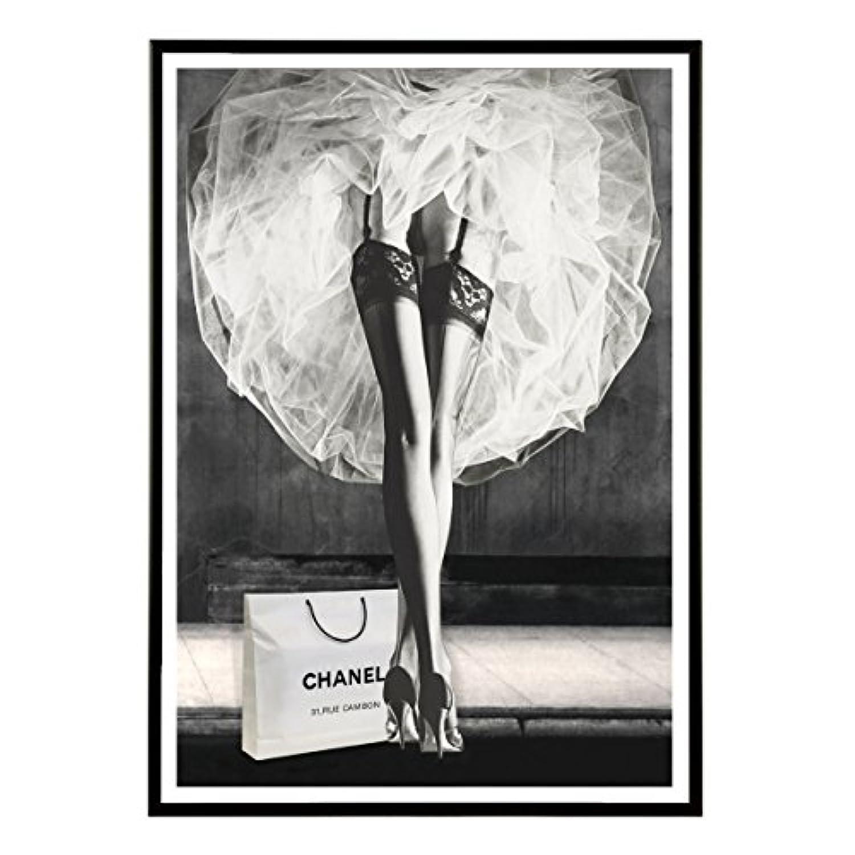 Aroma of Paris アートポスター おしゃれ インテリア 北欧 モノクロ アート #170 B2 ブラックフレーム