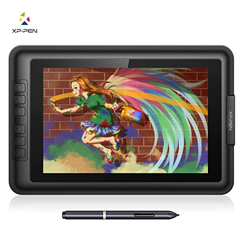 XP-Pen drawing tablet with screen 10.1 inch drawing tablet with screen IPS Monitor battery free 2048 level pen pressure pen Artist10S V2