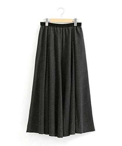 (ペルルペッシュ) Perle Peche eclatドットロングスカート