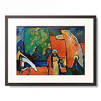 ワシリー・カンディンスキー Wassily Kandinsky (Vassily Kandinsky) 「Improvisations 2 (Funeral March) 」 額装アート作品