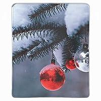 マウスパッド おしゃれ クリスマスデコレーションスレッドニードルスノー マウスの精密度を上がる