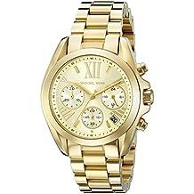 Michael Kors Women's Bradshaw Gold-Tone Watch