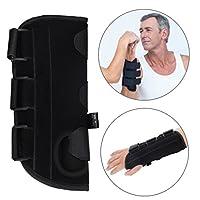 手首サポーター 親指の副子 通気性手首ブレースハンドサポート 保護脊髄 前腕 手根 骨スプリント 関節炎回復 (Left Hand S)