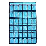 GORBAST 小物収納 透明 ウォール 多機能壁掛け式 カレンダーポケット 吊り下げ 収納 (空の青, 36格)