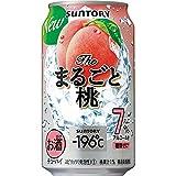 【糖類ゼロ】 サントリー チューハイ-196℃ ザ・まるごと桃 R缶 [ チューハイ 350ml×24本 ]