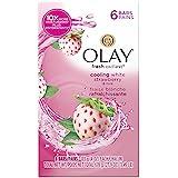 【ハワイ直送】 オーレイ 固形石鹸 ソープ クーリング ホワイトストロベリー&ミント 6個パック Olay Fresh Outlast Beauty Bars Cooling White Strawberry & Mint...