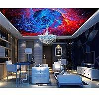 Ansyny 3D壁紙カスタム写真壁画壁ステッカー抽象模様の絵画天井壁画3D壁部屋壁画壁紙-220X140CM