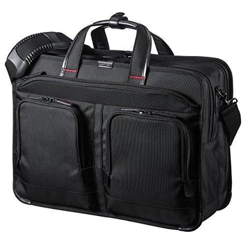 サンワサプライ エグゼクティブビジネスバッグPRO(大型ダブル) BAG-EXE9