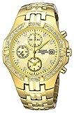 [セイコー パルサー]SEIKO PULSAR スワロフスキー装着 ゴールド 50m防水 メンズ 腕時計 PF8174 [並行輸入品]