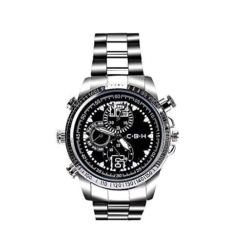 超小型隠しカメラ腕時計型 動体検知1080P HD高画質防犯...