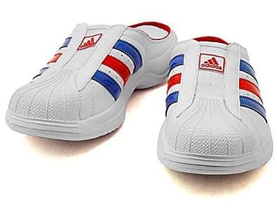 [アディダス] adidas SS CLOG(スーパースタークロッグ) 668686 ホワイト/サテライト/レッドメンズ 29.5cm [ウェア&シューズ]