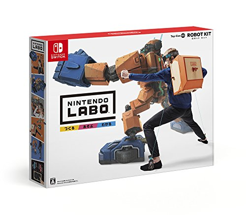 Nintendo Labo (ニンテンドー ラボ) Toy-Con 02: Robot Kit - Switch
