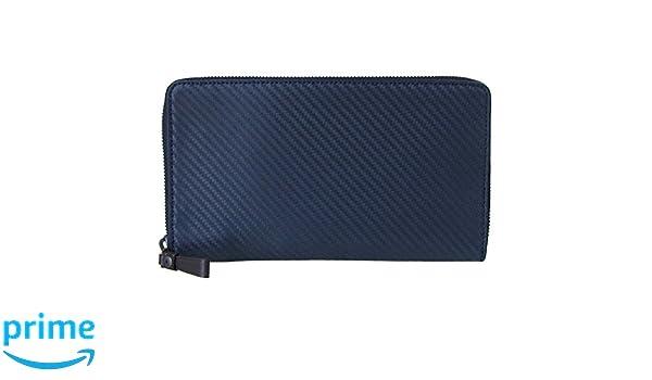 fb57013917ec Amazon | ダンヒル dunhill 財布 ラウンドファスナー メンズ シャーシ CHASSIS シングルジップ ネイビー×ダークブラウン  L2V5D2N [並行輸入品] | 財布