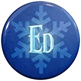 Buttonsmith ®冬Ice名前タグ Winter Ice Name Tag IN-Ed