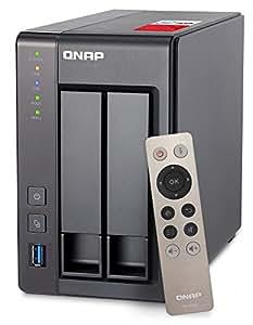 QNAP(キューナップ) TS-251+ 専用OS QTS搭載 intelクアッドコア2.0GHz CPU 2GBメモリ 2ベイ ホーム/SOHO向け プライベートクラウド機能対応 NAS 2年保証