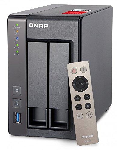 QNAP(キューナップ) TS-251+ 専用OS QTS搭載 intelクアッドコア2.0GHz CPU 2GBメモリ 2ベイ ホーム/SOHO向...