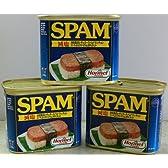ホーメル スパム340g減塩20%のランチョンミート3缶セット