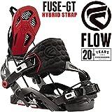 16-17 FLOW/フロー FUSE-GT HS フューズ メンズ レディース ビンディング バインディング スノーボード 2017