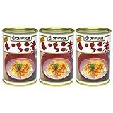 ウニとアワビの潮汁 元祖いちご煮 415g×3缶セット 【味の加久の屋】【青森名産品】