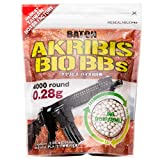 アクリビス バイオ BB弾 [ 精密射撃・競技に最適 ] (0.28g : 4,000発 1.1kg ホワイト)