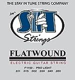 SIT STRINGS エスアイティストリングス エレキギター用フラットワウンド弦 Flat Wound Strings Pro Light F1150【国内正規品】