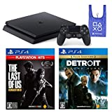 PlayStation 4 + The Last of Us Remastered + Detroit: Become Human + オリジナルデザインエコバッグ セット (ジェット・ブラック) (CUH-2200AB01) 【CEROレーティング「Z」】