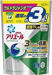 アリエール 洗濯洗剤 リビングドライジェルボール3D 詰め替え ウルトラジャンボサイズ 52個