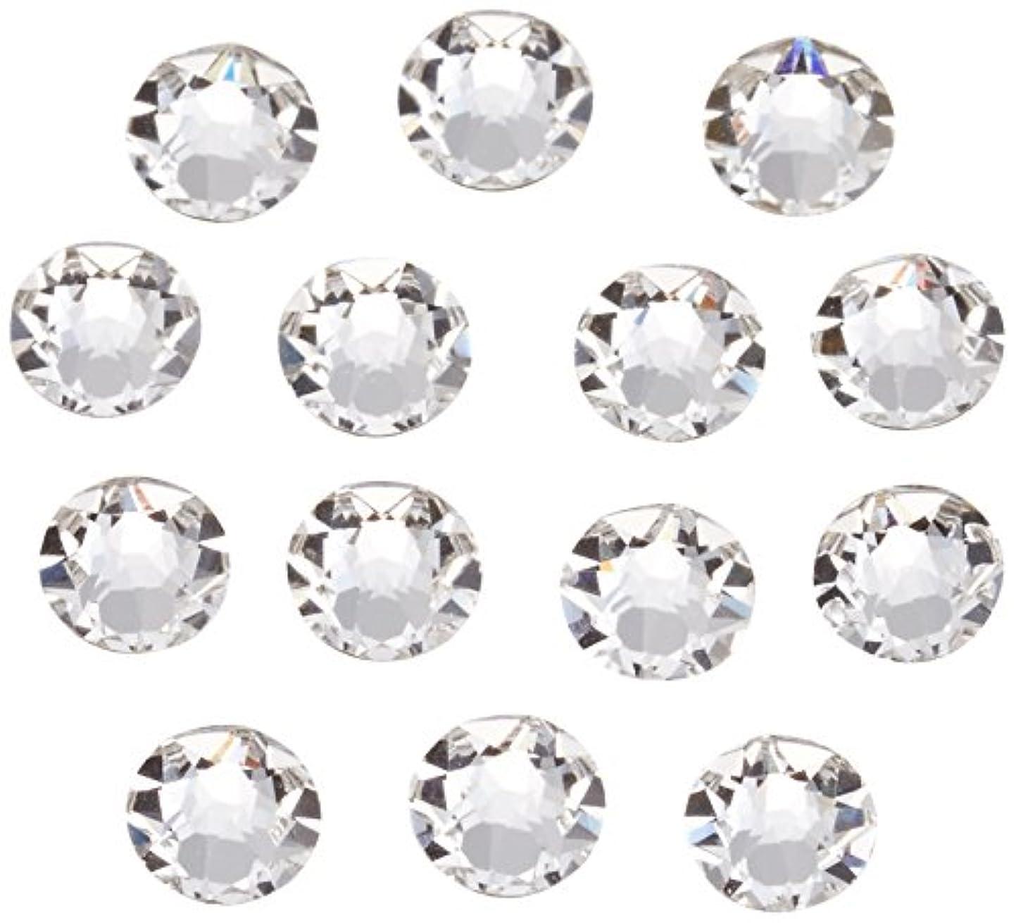 配当うるさいレザーネイルアートパーツ クリスタル SS12:3.0~3.2mm 240P