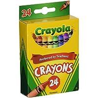 [クレヨラ]Crayola 24 Count Box of Crayons NonToxic Color Coloring School Supplies 52-3024-9 [並行輸入品]